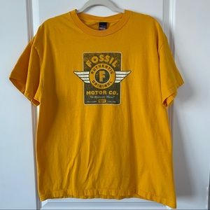 Fossil | Gold Fossil Motor Co. T-Shirt